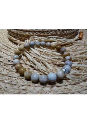 Bracelet Chrysanthème stone
