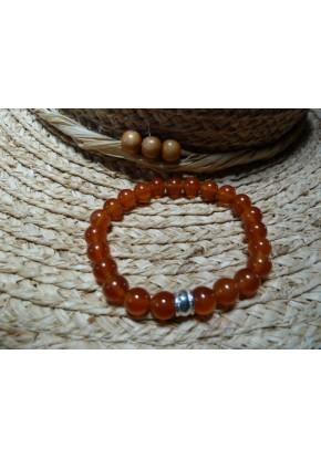 Bracelet Cornaline d'Inde