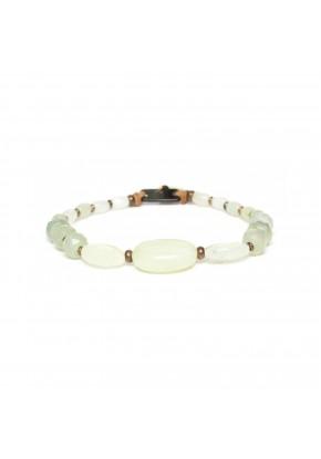 bracelet extensible de jade...