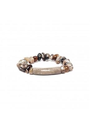 bracelet extensible agate...