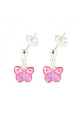 Boucles pendantes papillon...