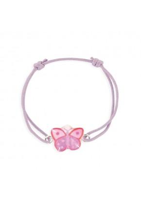 Bracelet lacet papillon...